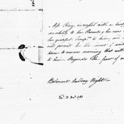 Document, 1783 December 31