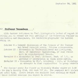 Correspondence, 1951-09-24....