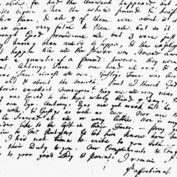 Document, 1739 December 14