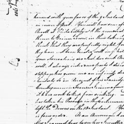 Document, 1783 August 22