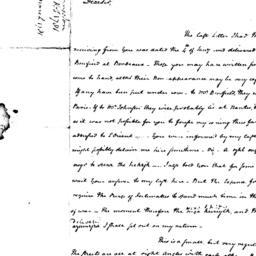 Document, 1781 February 12