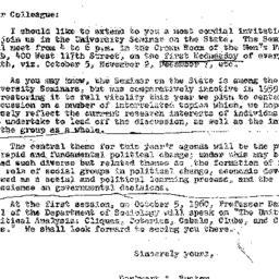 Correspondence, 1960-09-22....