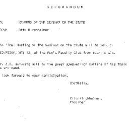Correspondence, 1964-05-13....