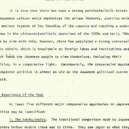 Speaker's notes, 1964-12-14...