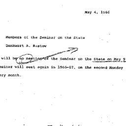 Correspondence, 1966-05-04....