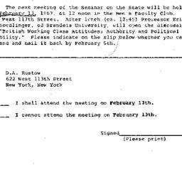 Correspondence, 1967-02-13....