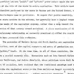 Speaker's paper, 1973-11-14...