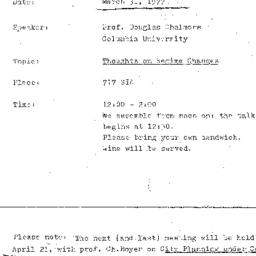 Minutes, 1976-03-31. The St...