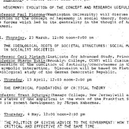 Handouts, 1978-02-17. The S...