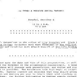 Announcements, 1983-12-06. ...