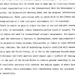 Speaker's paper, 1947-01-08...