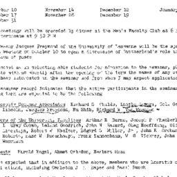 Announcements, 1950-09-18. ...