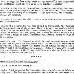 Minutes, 1952-11-07. The Pr...