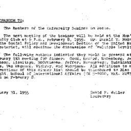 Minutes, 1955-01-11. The Pr...