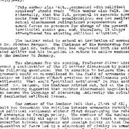 Minutes, 1957-10-29. The Pr...