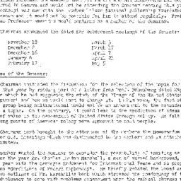 Minutes, 1958-10-07. The Pr...