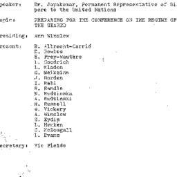 Minutes, 1974-01-22. The Pr...