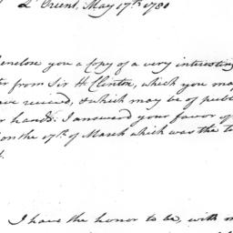 Document, 1780 May 17