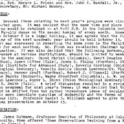 Minutes, 1973-05-14. Studie...