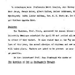 Minutes, 1977-04-11. Studie...