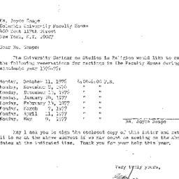 Correspondence, 1977-05-13....