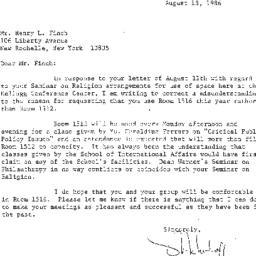 Correspondence, 1987-08-13....