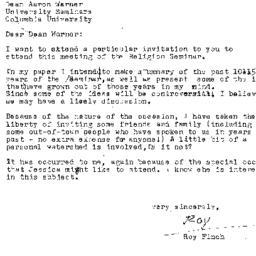 Correspondence, 1992-11-18....