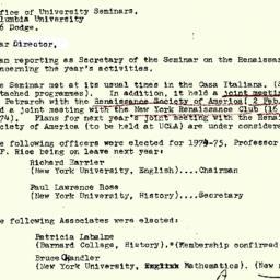 Correspondence, 1975-04-19....