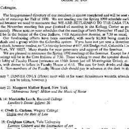 Correspondence, 1989-10-30....