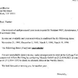 Correspondence, 1997-07-28....