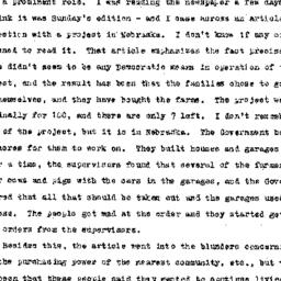 Minutes, 1945-11-01. Rural ...