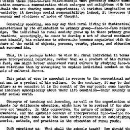 Minutes, 1959-01-05. Rural ...