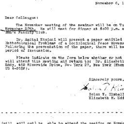 Correspondence, 1963-11-06....
