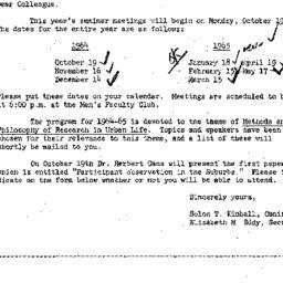 Correspondence, 1964-10-01....