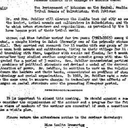 Announcements, 1969-05-13. ...