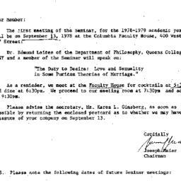 Correspondence, 1978-09-05....