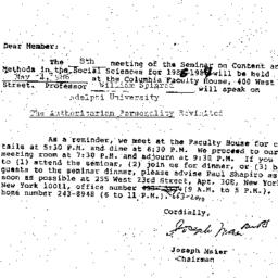 Correspondence, 1986-04-09....