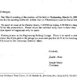 Correspondence, 1998-02-27....