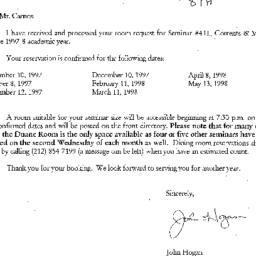 Correspondence, 1998-07-17....