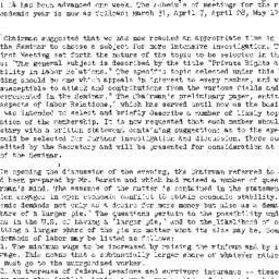 Minutes, 1949-03-03. Labor,...