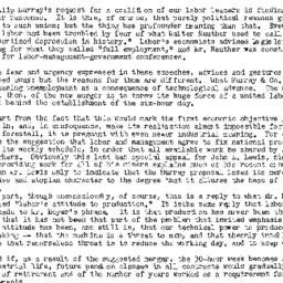 Handouts, 1950-04-18. Labor...
