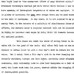 Handouts, 1949-12-13. Labor...