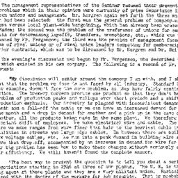 Minutes, 1953-05-06. Labor,...