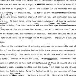 Minutes, 1955-05-17. Labor,...
