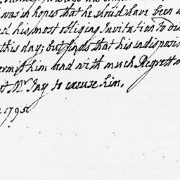 Document, 1795 January 10