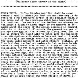 Minutes, 1958-02-19. Labor,...