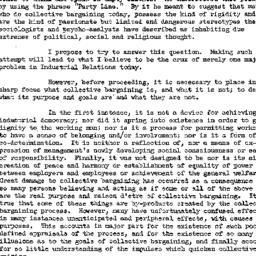 Speaker's paper, 1961-11-15...