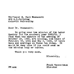 Correspondence, 1961-12-14....