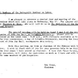 Announcements, 1964-05-15. ...