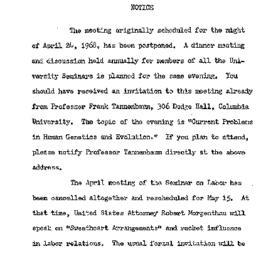 Announcements, 1968-04-24. ...